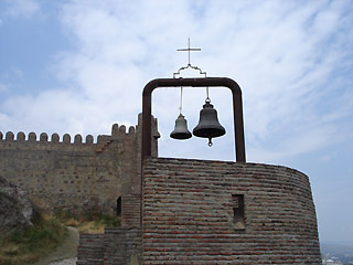 Bells watching over Tbilisi