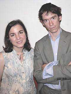 Ziba Norman with Rory Stewart, Member of Parliament for Penrith & the Border, former Harvard professor, soldier, diplomat, deputy governor of two Iraqi provinces, author, television presenter.